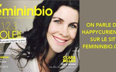 Les Happycuriennes, invitées chez Féminin Bio