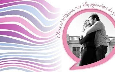 CLARA & WILLIAM, notre couple Happycurien du jour se dévoile !