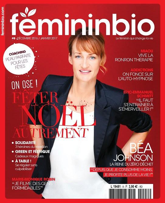 magazine feminnbio fonde par Anne Ghesquiere