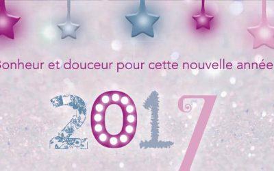 Très belle année 2017 à toute la famille des Happycuriennes !