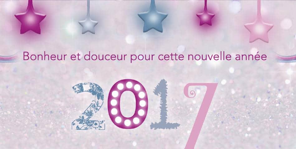 Tres bonne annee 2017