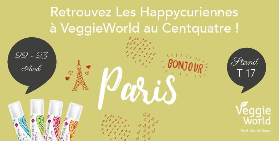 Les happycuriennes au salon vegan veggieworld en avril for Salon vegan paris