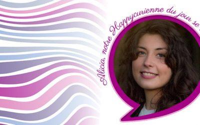 Happy Portrait ALICIA, fan de La Joyeuse
