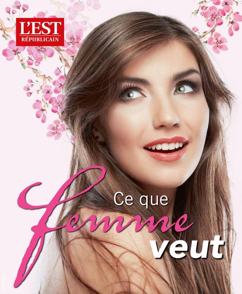 La cosmétique joyeuse de Carole Marchais dans Version Fémina Meurthe-et-Moselle du 16 avril 2017
