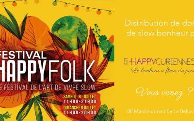 Le Festival Happy Folk 2017, le festival de l'art de vivre slow