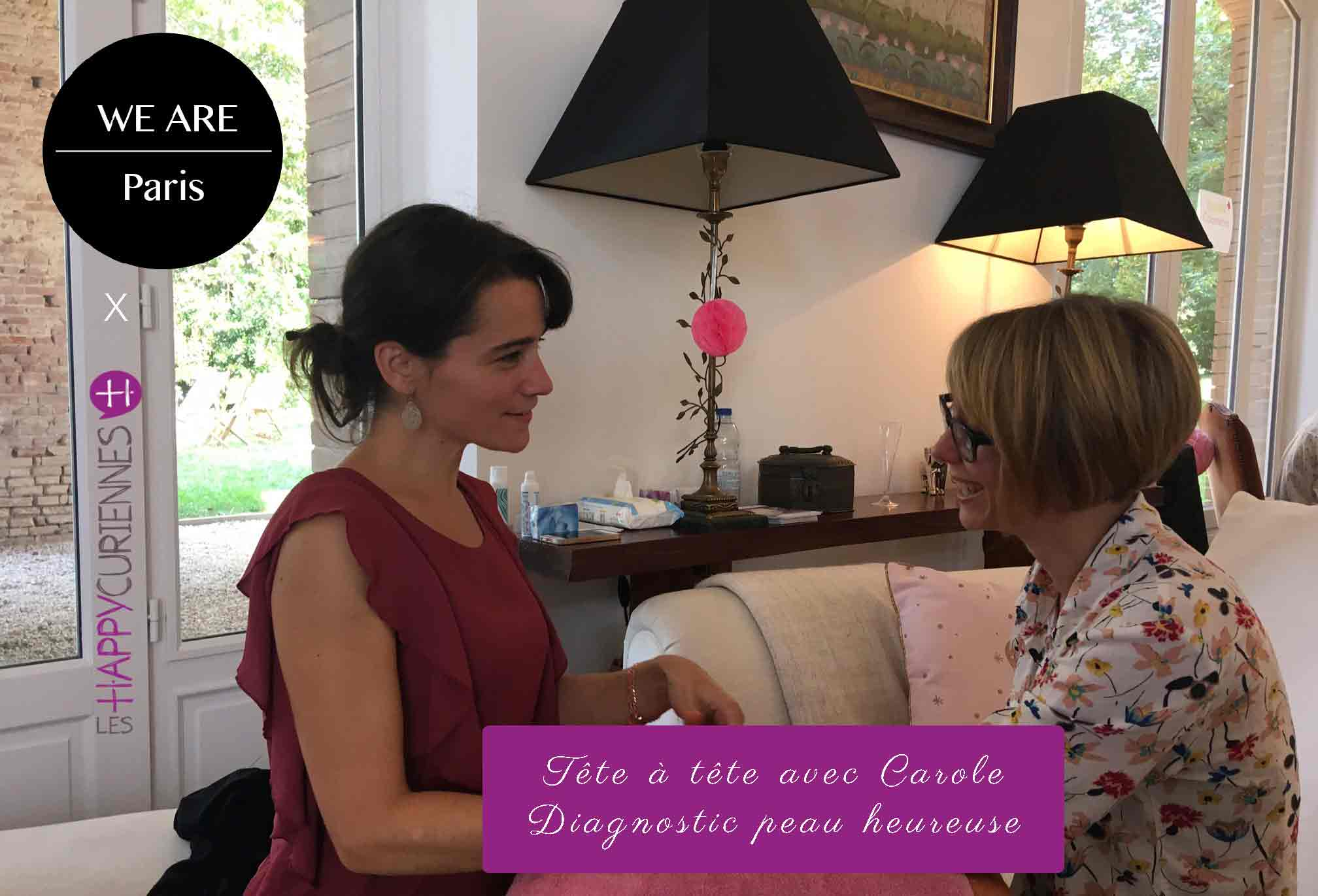 Escale Happycurienne au concept sotire We are paris pour un tête à tête avec Carole M.