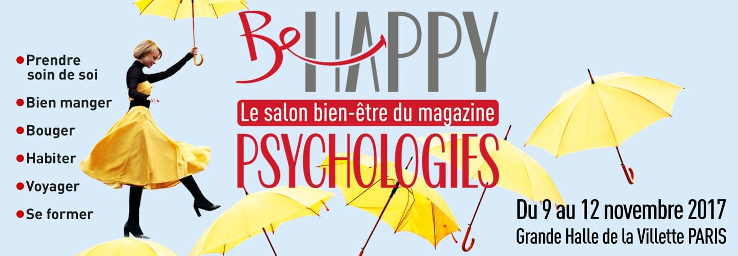 Escale Happycurienne au salon Be Happy de Paris