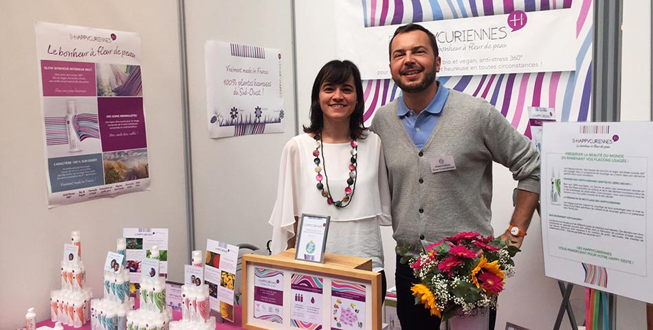 Escale Happycurienne au salon VeggieWorld au 104 à Paris avec Julien Kaibeck