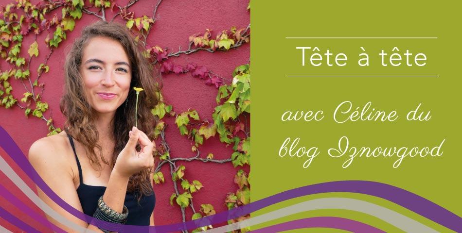 Faites connaissance avec Céline, auteure du blog Iznowgood dédié à la mode éthique