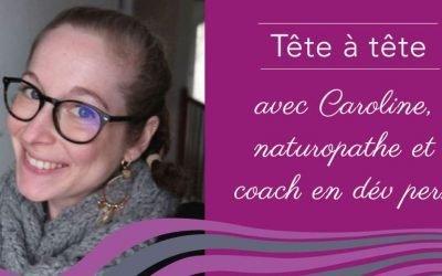 Caroline, naturopathe et coach en développement Personnel, à Marseille