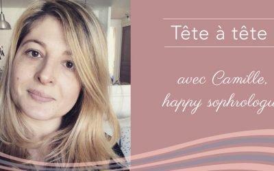 Camille, sophrologue et auteure du blog Happy Mum