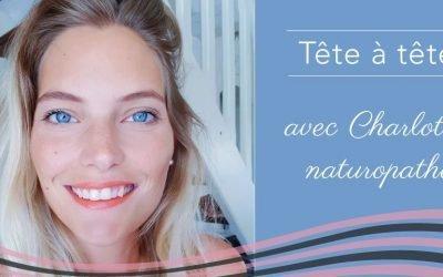 Charlotte, naturopathe et accompagnatrice holistique