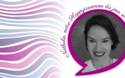 Nathalie, fidèle happycurienne adepte de la Re-belle Optimiste