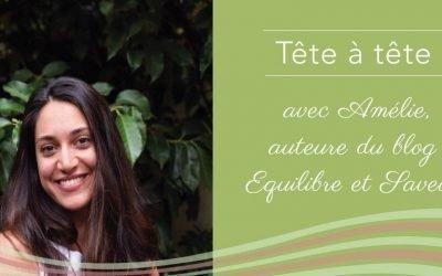 Amélie, auteure du blog vegan et sans gluten Équilibre et Saveurs