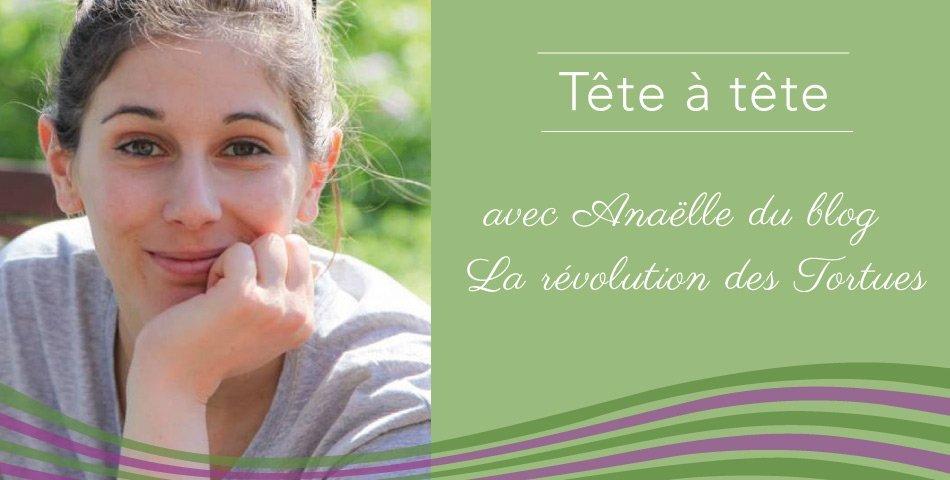 Anaëlle, créatrice du blog green La Révolution des Tortues