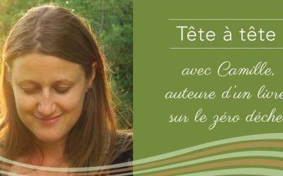 Camille, auteure du livre «Le Zéro Déchet, des conseils adaptés»