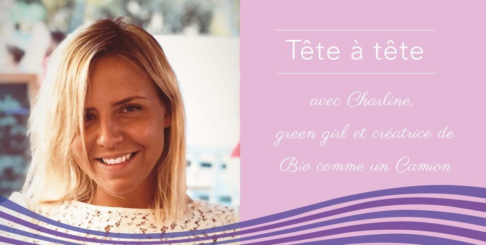 Portrait de Charline, green blogueuse