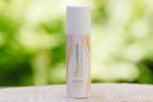La Joyeuse, crème hydratante bio et slow cosmétique pour peau normale à mixte, et grasse