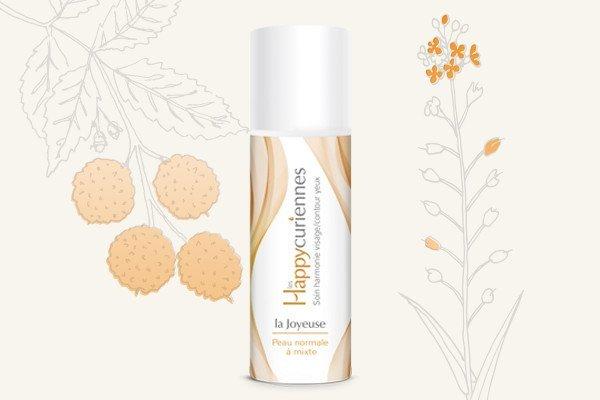 La Joyeuse, crème hydratante bio pour peau normale à mixte, et grasse
