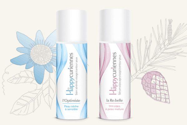 Duo de crèmes visage pour peau sèche et sensible, bio et vegan