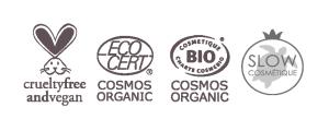 Labels crème corps vegan