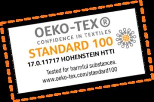 Pochon zéro déchet, logo OEKO TEX 100